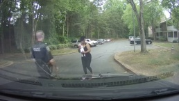 Dashcam Video Captures Officer Save Infant