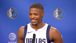 Mavs Rookie, 19, Jokes About Dirk's Age