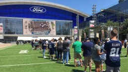 12,000 Cowboys Fans Compete for 'Star' Parking