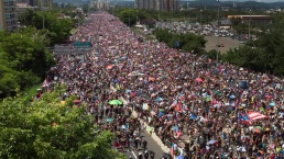 Puerto Rico Protests to Drive Out Gov. Ricardo Rosselló