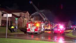 Lightning Sparks String of North Texas House Fires
