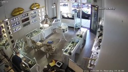 Jewelry Store Owner Stops Heist