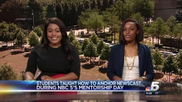 TV Broadcasters of Tomorrow Visit NBC 5