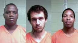 Search for 3 Escaped Inmates in Louisiana