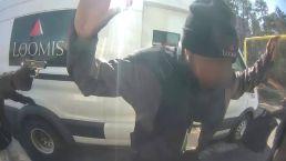 Cameras Capture Dramatic ATM Robbery