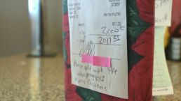 Secret Santa Delivers Huge Tip