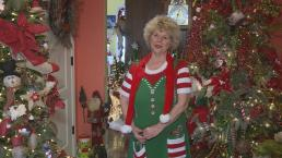 Woman Decorates Home with Over 175 Christmas Trees