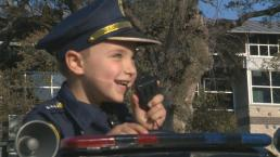 Camp Fire Survivor Becomes Cop for a Day