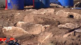 Native American Graves Discovered