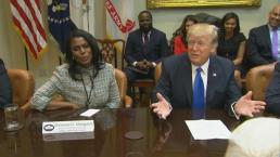 Trump Tweets His Frustration at Omarosa, Calls Her a 'Dog'