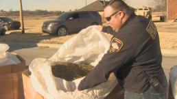 Oklahoma Police Bust Pot Shipment