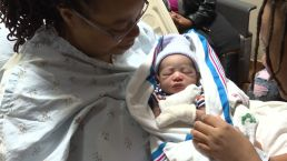 Daughter Helps Mom Deliver Newborn Baby