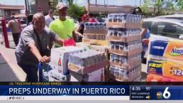 Preparation for Hurricane Maria Underway in Puerto Rico