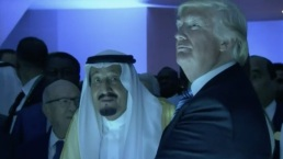 Trump, Saudi King Salman Open Counter Terrorism Center