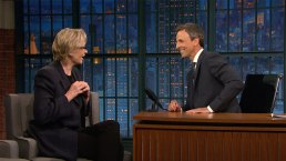 'Late Night': Jane Lynch Travels With Everything in Her Bra