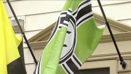 Virginia Residents Say Neighbor's Flag Is Racist; He Says 'It's Satire'
