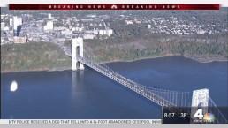 Protesters Block Upper Level of George Washington Bridge