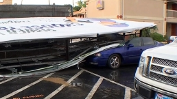 Thunderstorms Bring Strong Gusts, Damage to North Texas