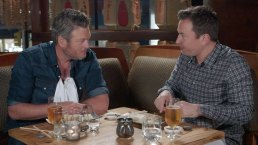 Jimmy Fallon and Blake Shelton Go Out for Sushi in NYC