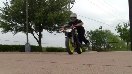 Video of Little Person Riding Motorcyle Goes Viral