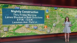 Construction Closures Around DFW This Week