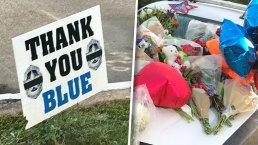 Photos Show Prayers, Love for Slain Dallas Officer