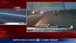 Dallas OEM Spokesman Discusses Winter Weather