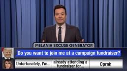 'Tonight': Melania Trump Excuse Generator