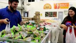 Food Bank Love Story