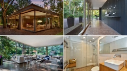 See Inside: Glass House in Suburban Chicago on the Market