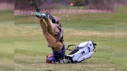 Gander Attacks High School Golfer