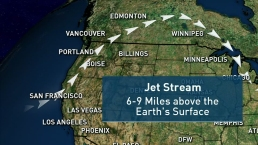 Jet Stream to Blame for Recent Warm Temperatures