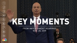 Key Moments From Wednesday's Impeachment Hearings