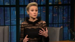 'Late Night': Kristen Bell Got Co-Star Stuck in Escape Room