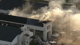 Motel Fire in North Fort Worth
