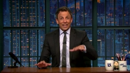 'Late Night': Meyers' Message to Bernie or Bust Die-Hards