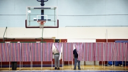 See Photos of N.H. Primary Voters Heading to the Polls