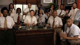 'Tonight': Jimmy Fallon and Migos Sing With Office Supplies