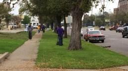 Fraternity Members Clean Up Dallas Neighborhood
