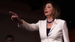 WATCH: Pelosi Takes Issue With Reporter Asking If She Hates Trump