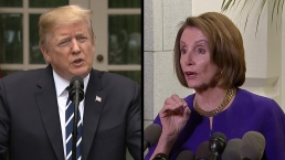 Pelosi Says President Involved in 'Cover-Up,' Trump Hits Back