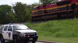 Plano Police Promote Railroad Crossing Safety