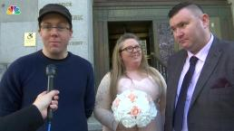 UK Couple Finds Witness for NYC Wedding on Reddit
