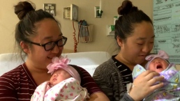 Twin Sisters Give Birth on the Same Day