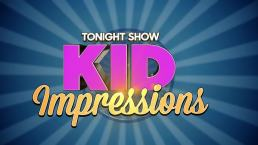 'Tonight' Kid Impressions: President Trump Edition