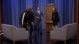 'Tonight': Charades With Foxx, Egerton and Deutch