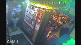 Camera Captures Cops Fighting
