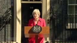 British PM Theresa May Announces Resignation
