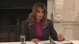 Melania Trump Vows to Continue Cyberbullying Fight Despite Skepticism