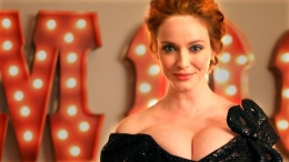 """Mad Men"" Actress Christina Hendricks Is ""Woman of the Week"""